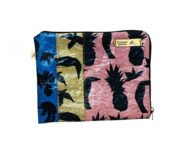 Green (Recycled Plastic Bags) IPAD MINI Cover -Pineapple embrace