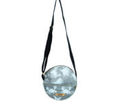 Green Recycled Plastic Bags Round Grey Bag embrace