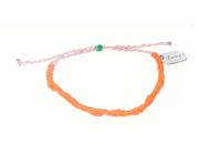 embrace arte orange and pink bracelet