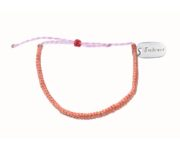 embrace nature pink and purple bracelet
