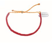 embrace nature red bracelet