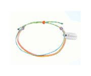 embrace sharing blue and yellow bracelet