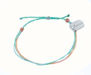embrace sharing green bracelet
